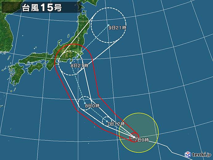 台風15号 ファクサイ
