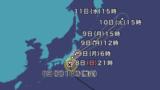 台風15号 進路
